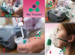 İlaçlı Maske Nebulizatör Kullanımı